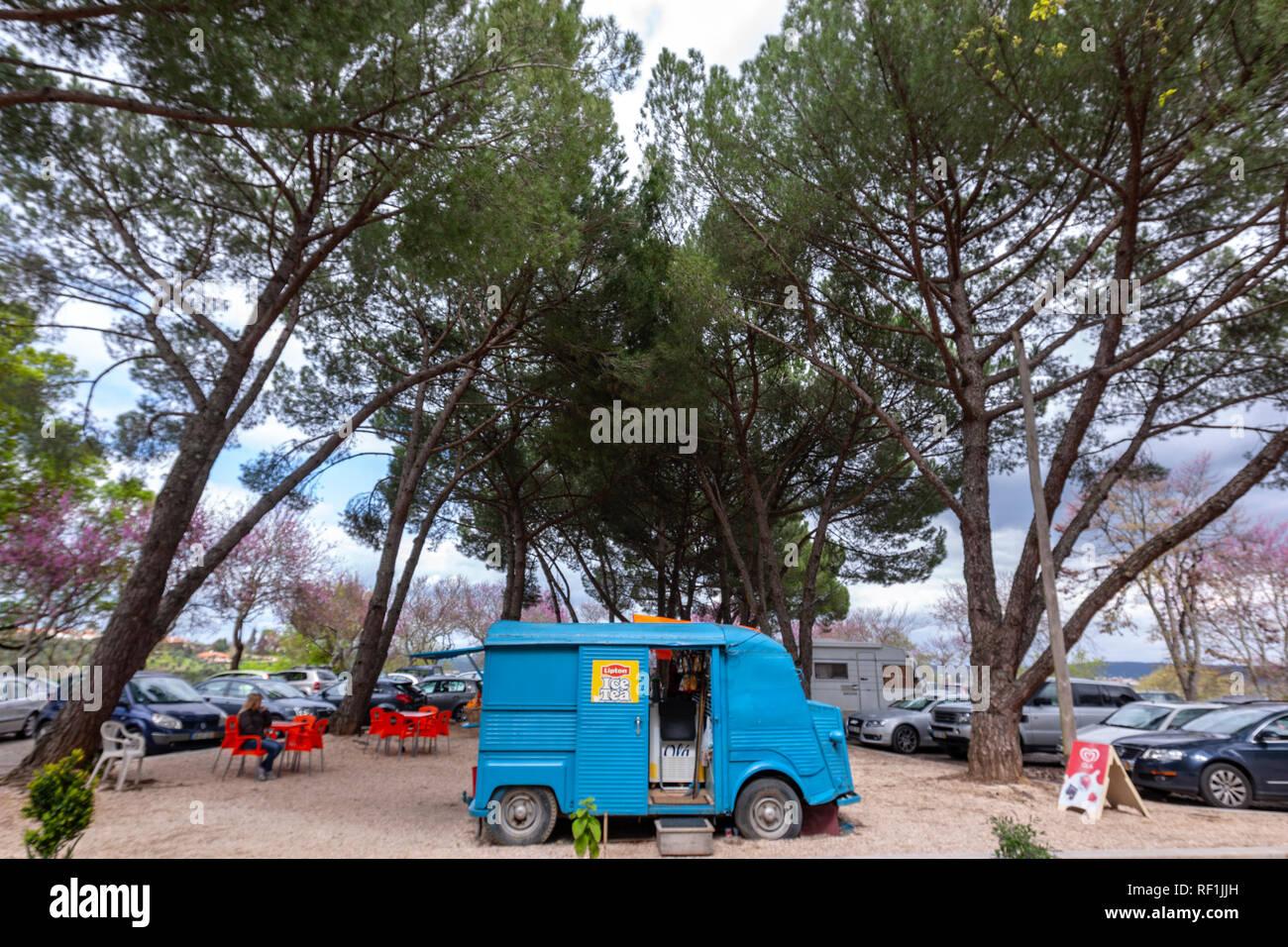 a313bff0da Mobile Coffee Van Vintage Citroen H Classic Citroen food truck mobile food  trailer in Tomar