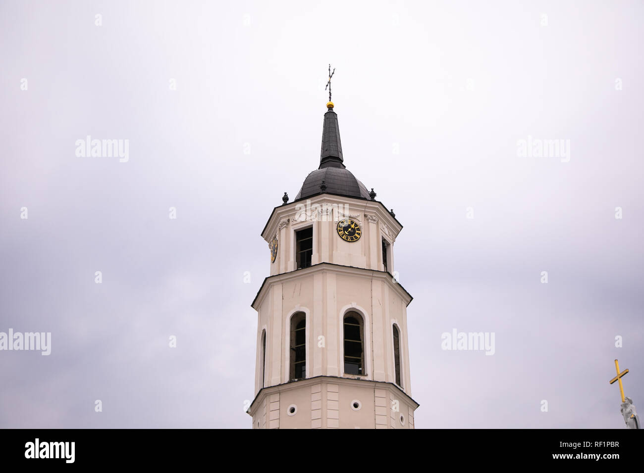 The Cathedral of Vilnius. Chapel - Stock Image