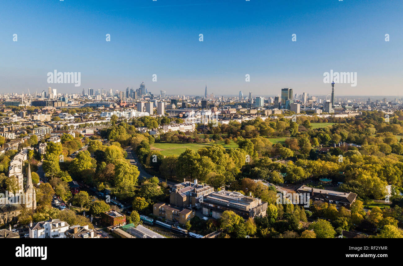 View of City of London Stock Photo