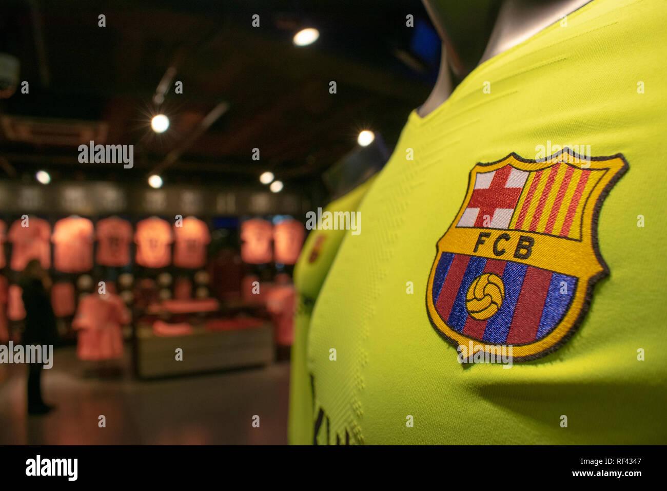 Camp Nou - Stock Image