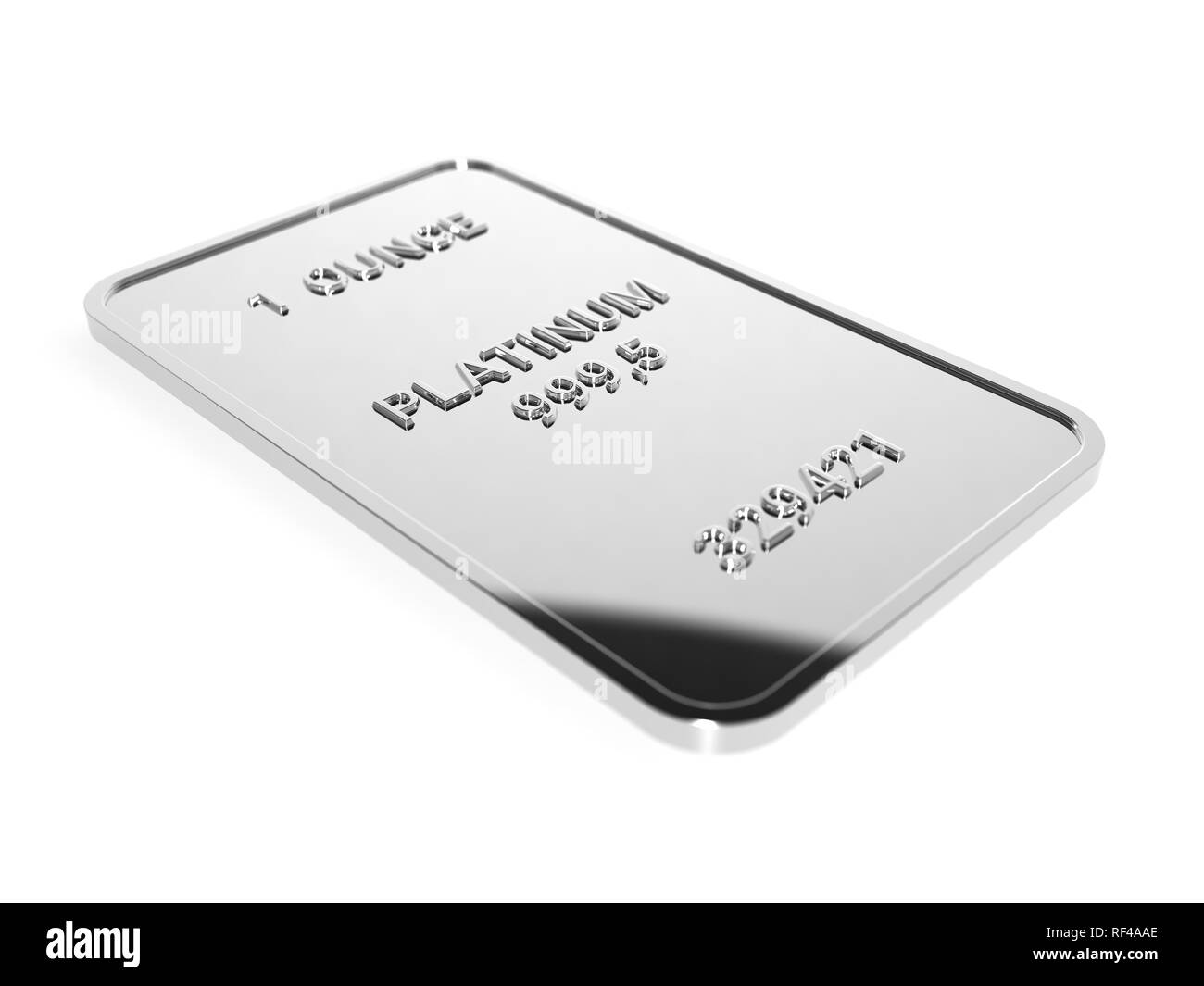 Platinum - Stock Image