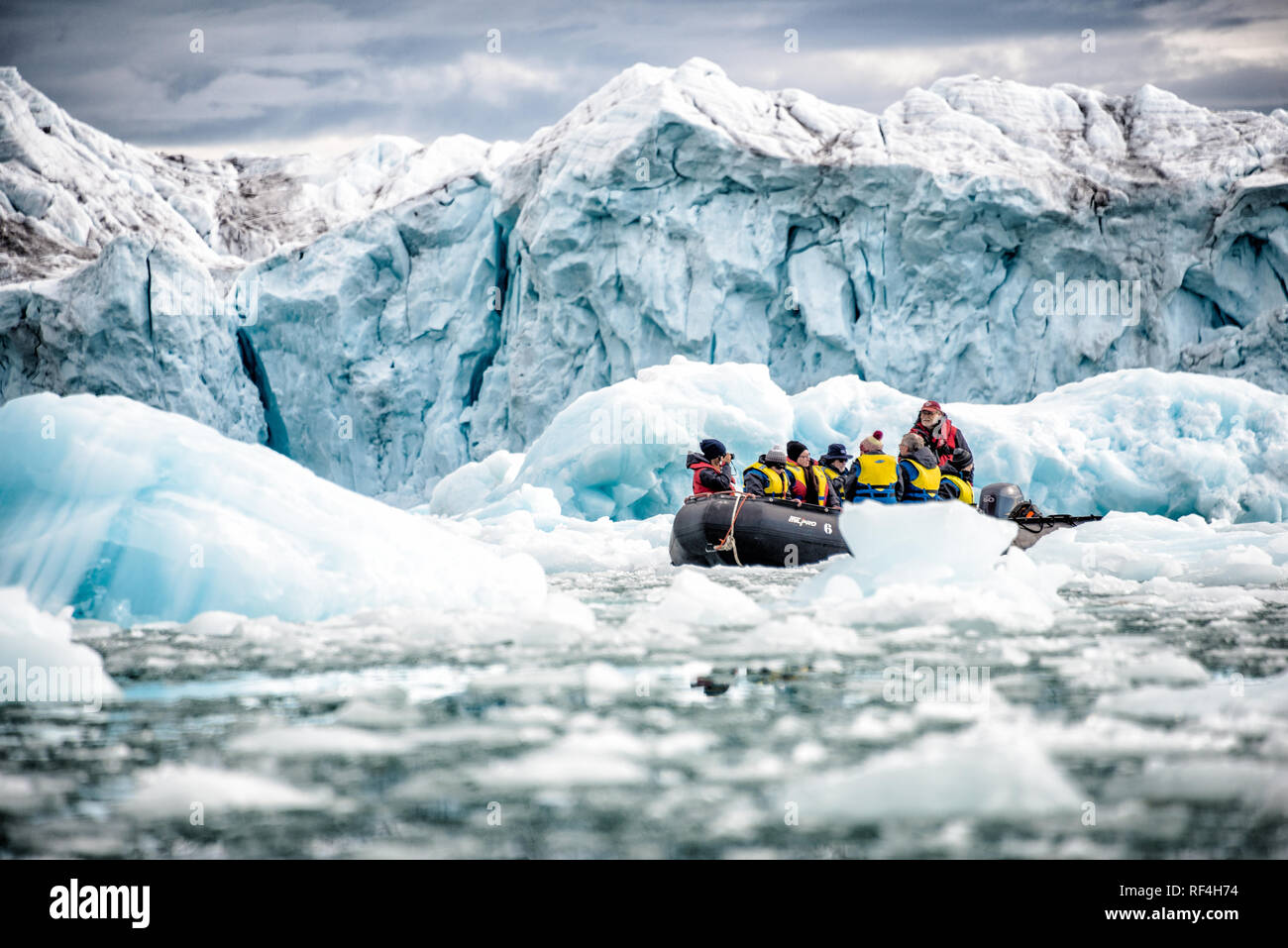ice Arctic polar - Stock Image
