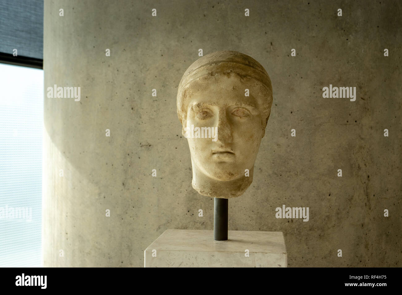 Seeing Ancient Greek sculpture of the Acropolis Museum. Two words: life-changing. - Stock Image