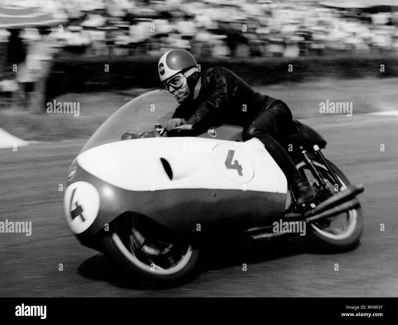 libero liberati, gilera, 1956 Stock Photo