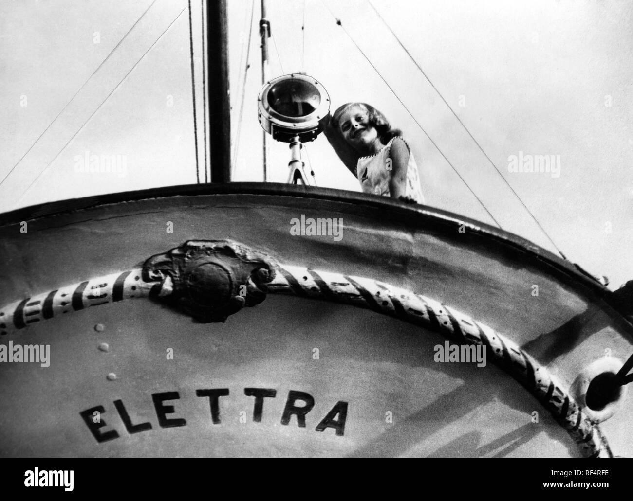 elettra marconi, 1936 Stock Photo