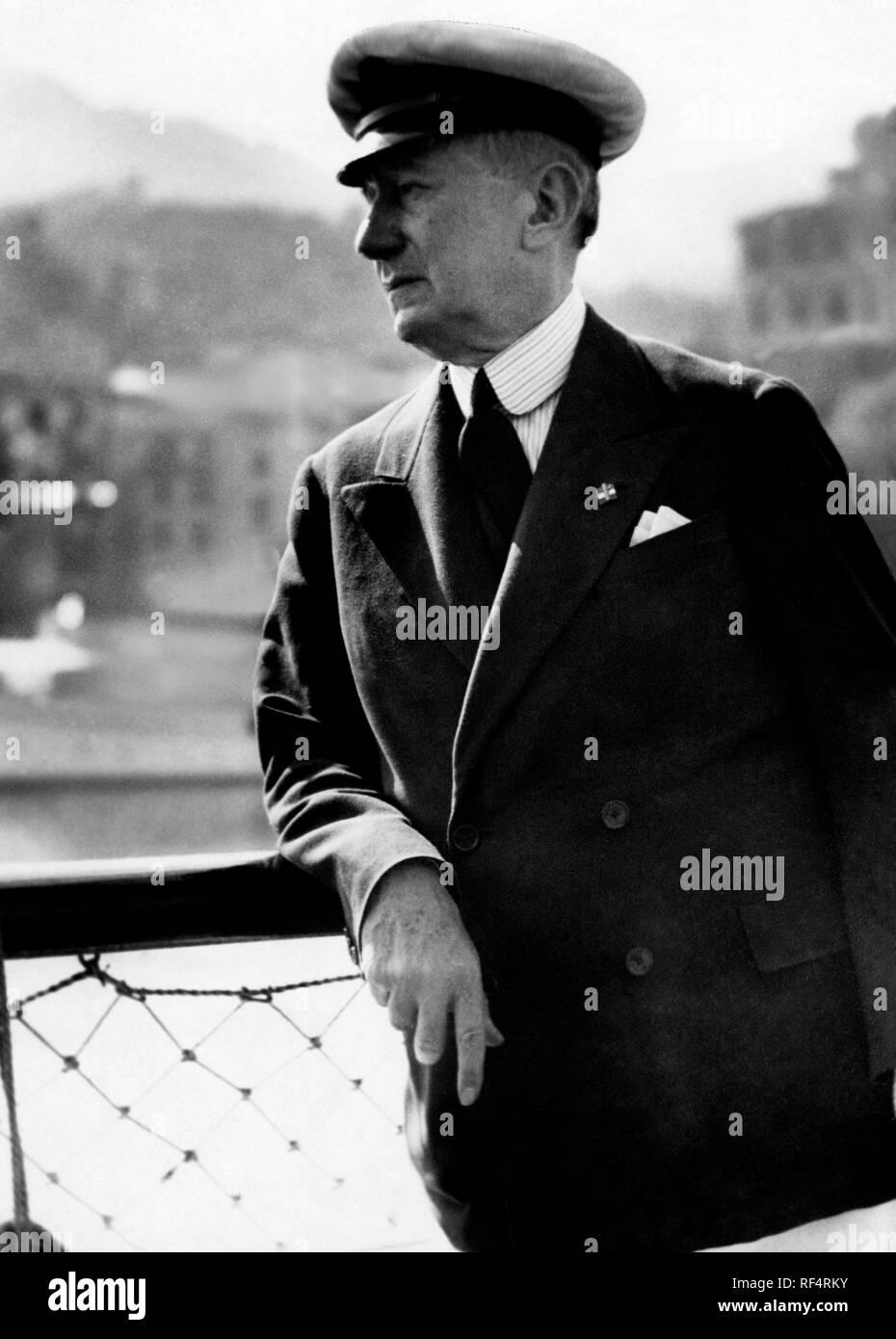 guglielmo marconi, 1936 Stock Photo