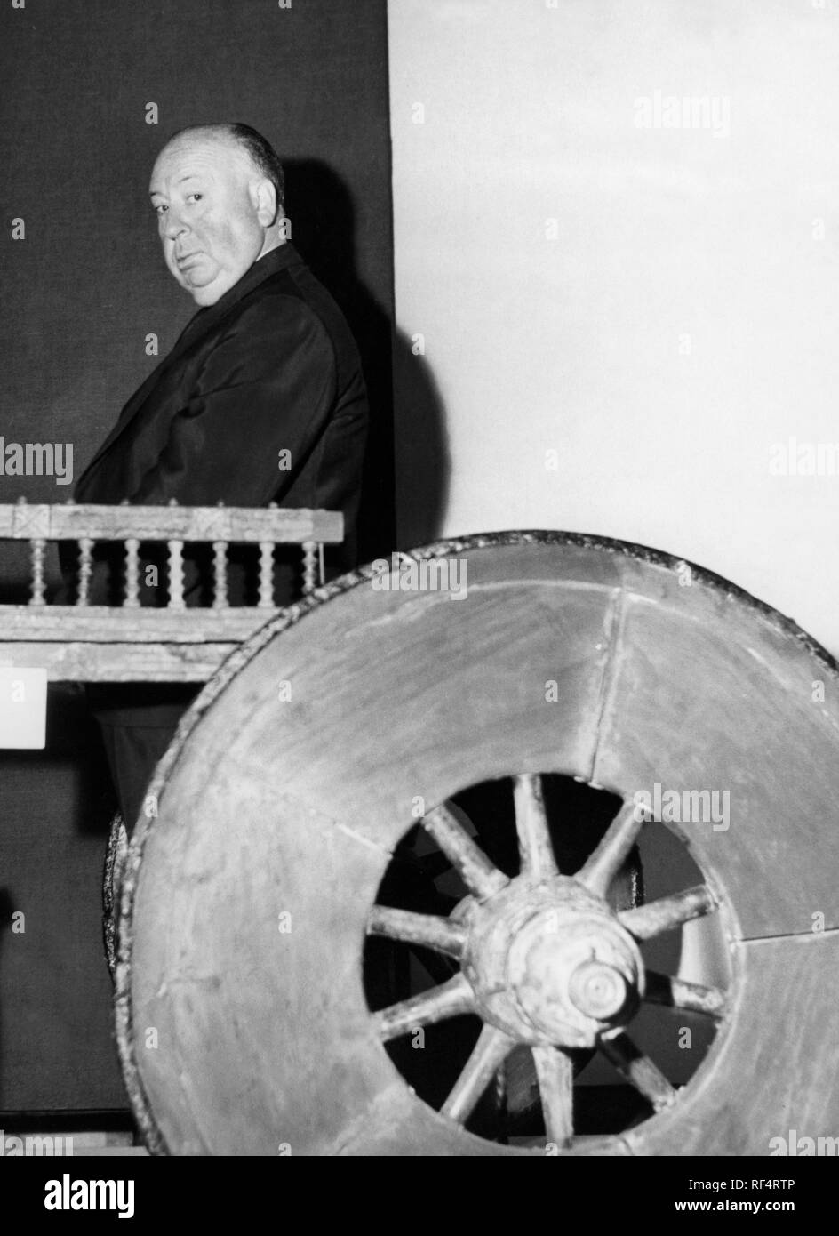 alfred joseph hitchcock, 1961 Stock Photo