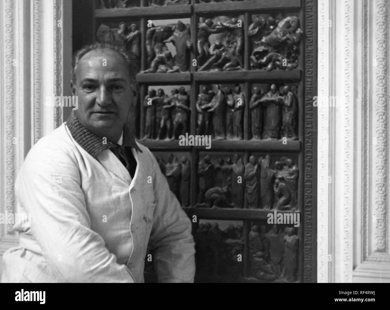 giannino castiglioni, 1984 Stock Photo