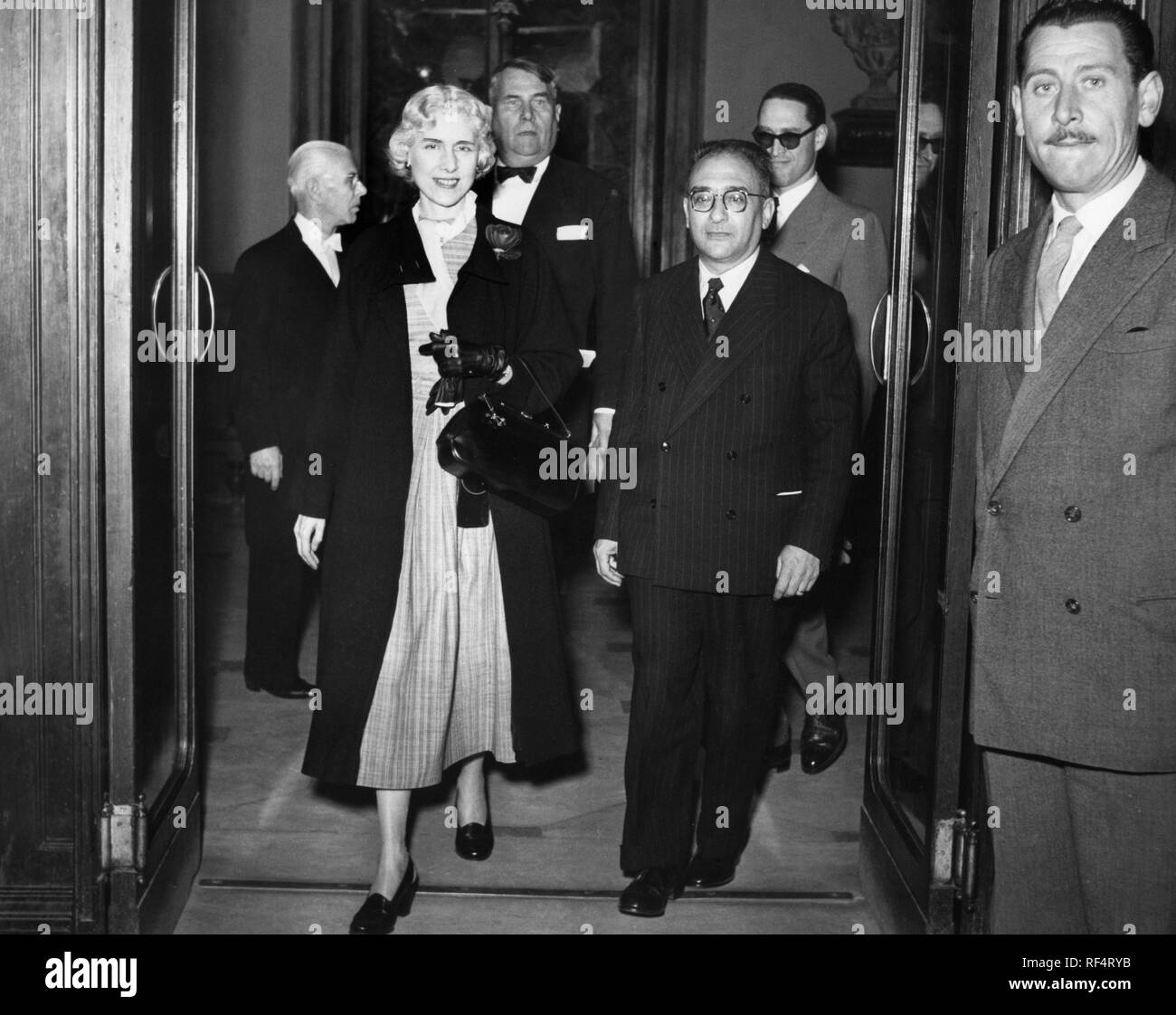 Clare Boothe Luce, 1964 Stock Photo