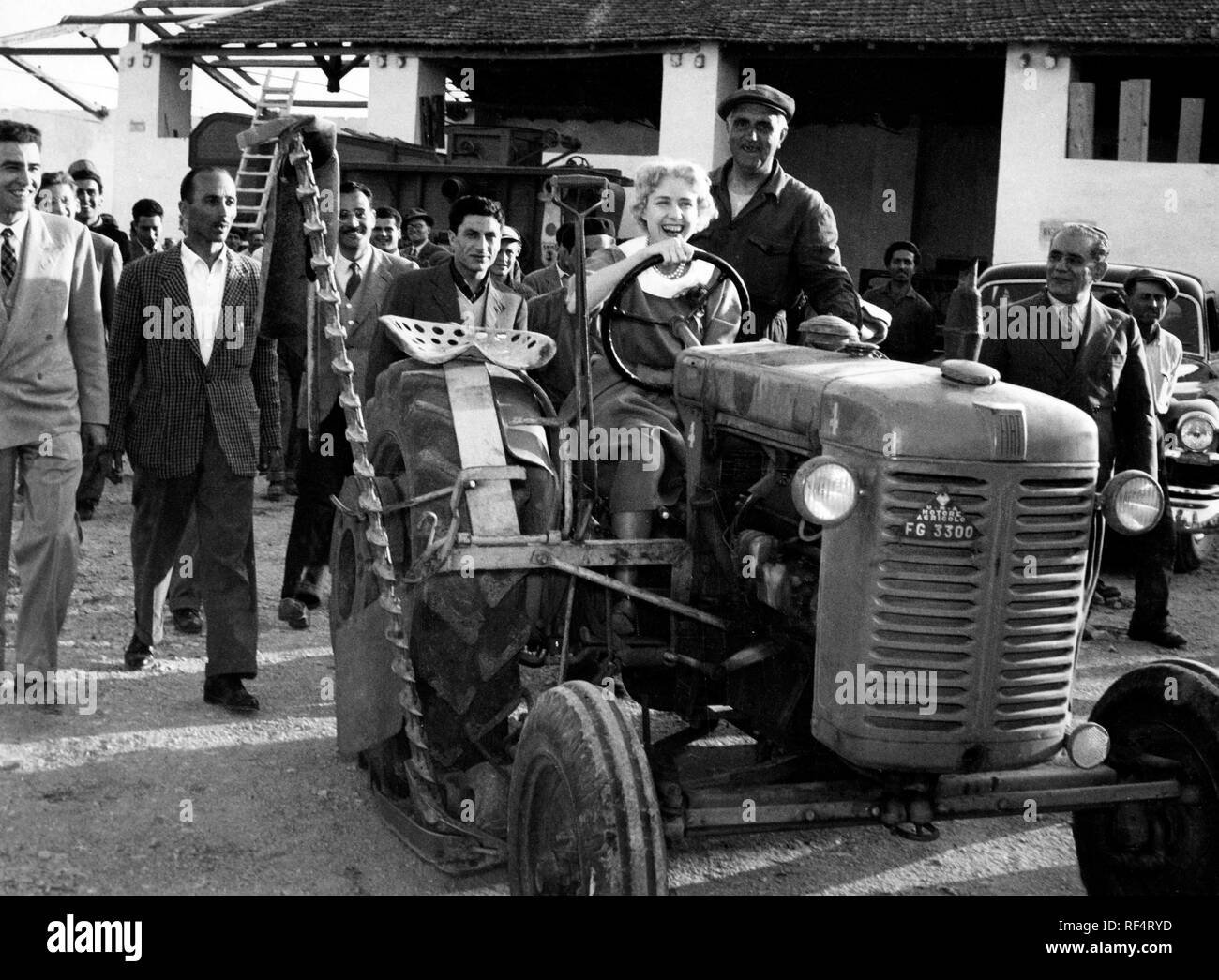Clare Boothe Luce in lucania, 1964 Stock Photo