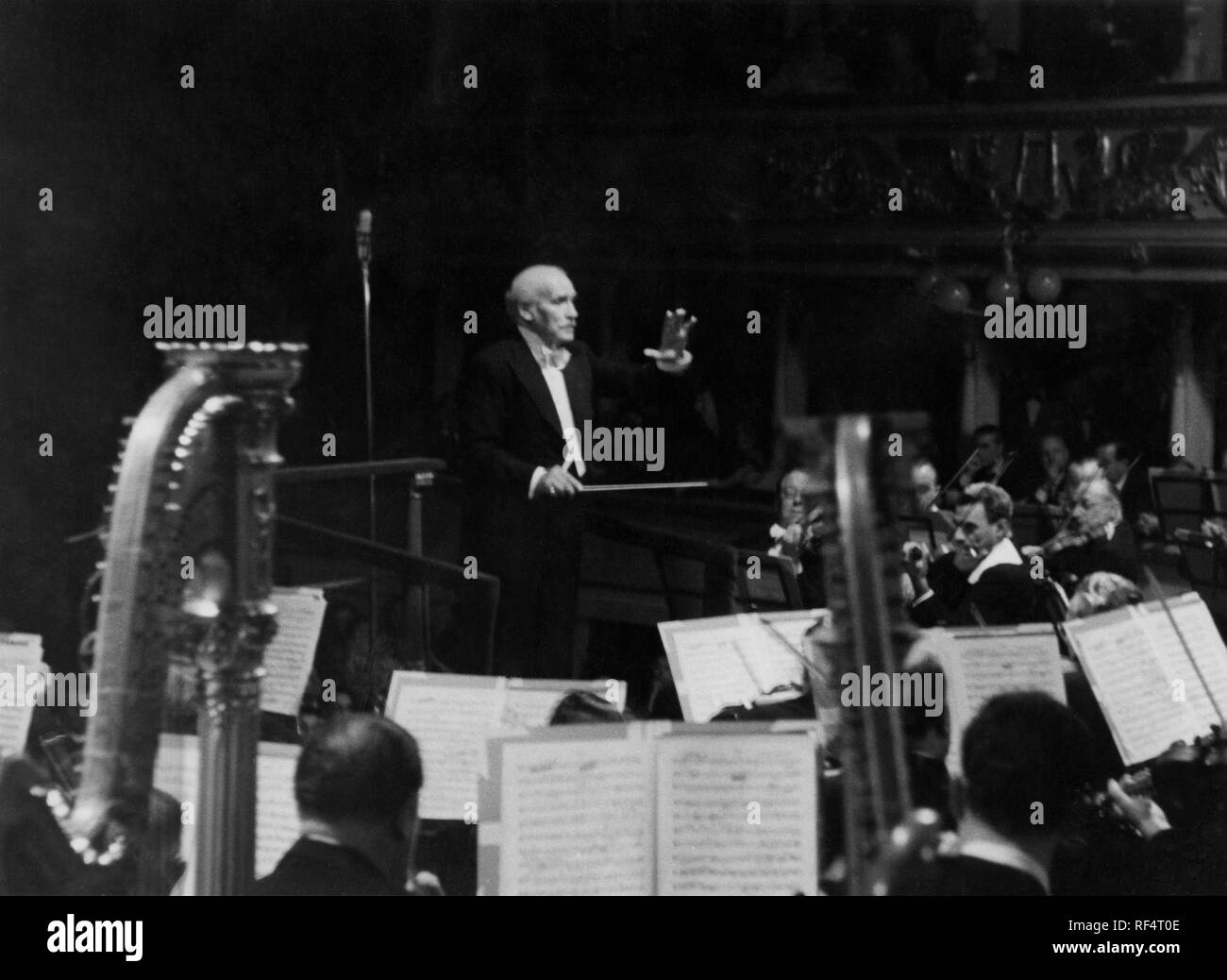 arturo toscanini, 1952 Stock Photo