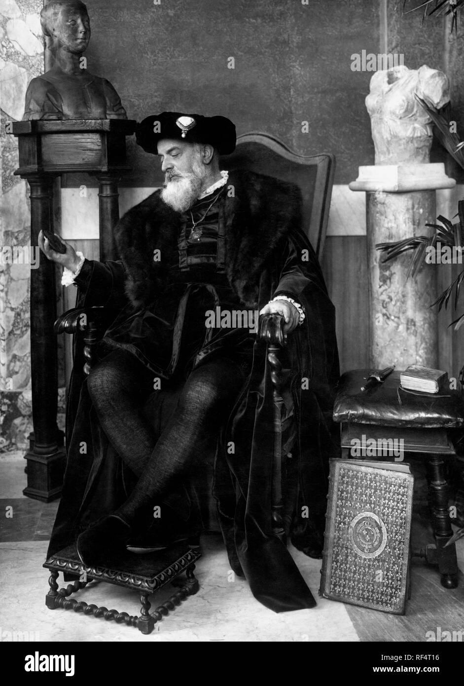 giuseppe primoli descendant of bonaparte, 1957 Stock Photo