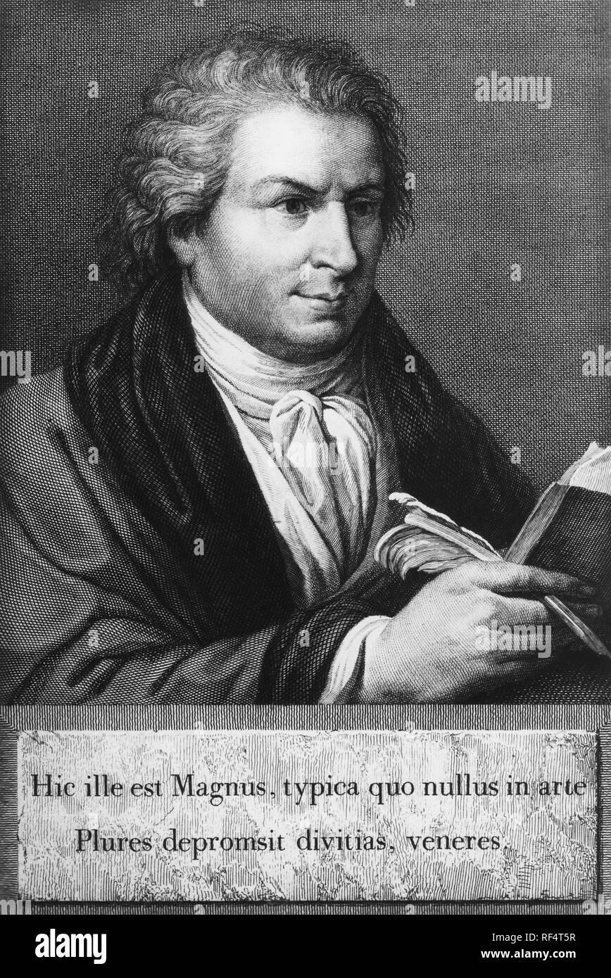 giambattista bodoni, 1740 1813 Stock Photo