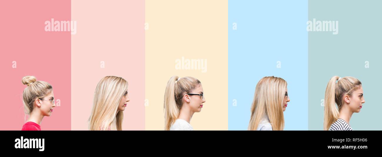 vintage natural blonde