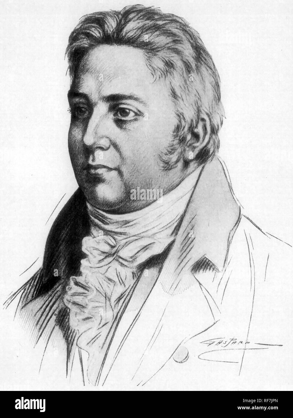 SAMUEL TAYLOR COLERIDGE (1772-1834) English poet and philosopher - Stock Image