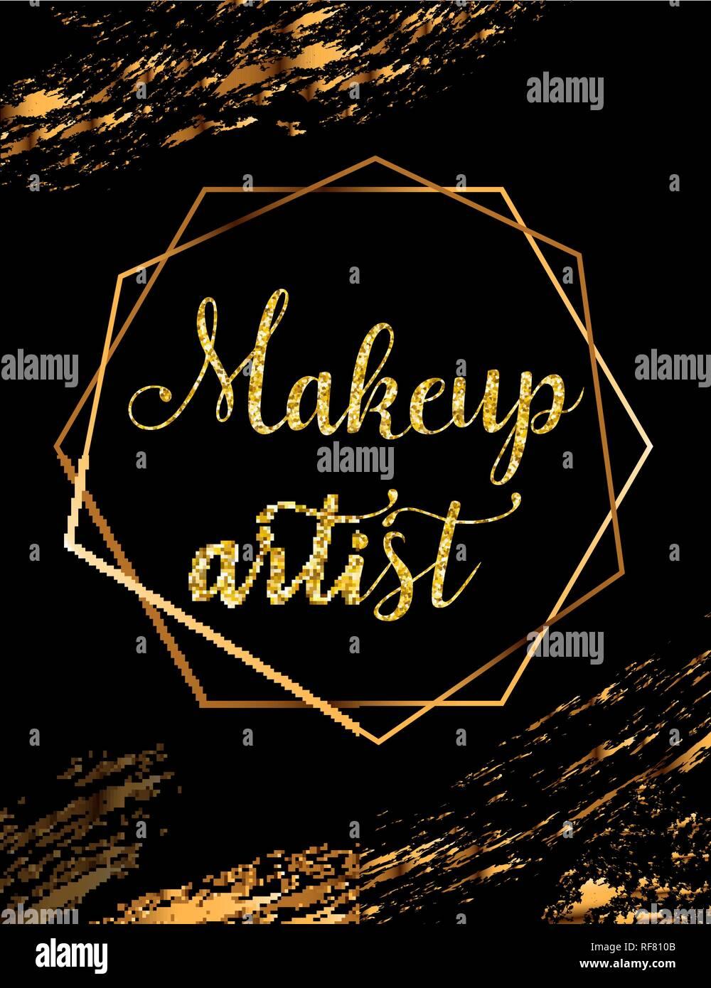 Banner Makeup Artist Poster Design