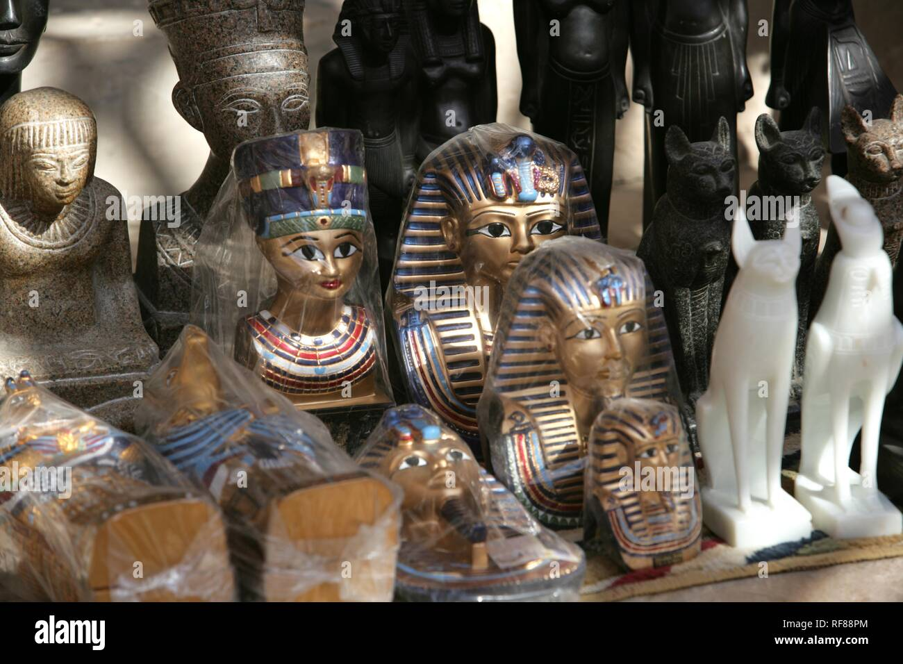 Souvenirs, Valley of the Kings, Luxor, Egypt, Africa Stock Photo