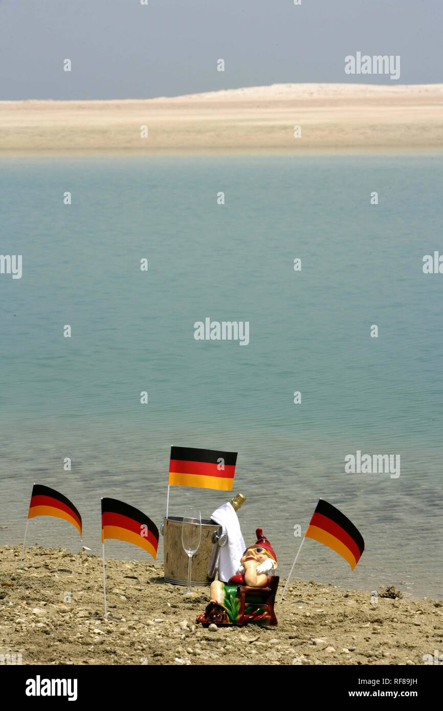 Map Of Germany Coast.Germany Island One Of The Artificial Islands On A Man Made World
