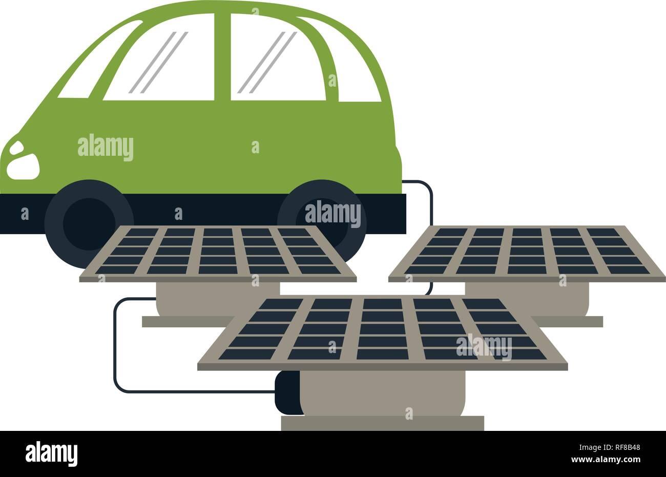 Solar Power Car Stock Photos Amp Solar Power Car Stock