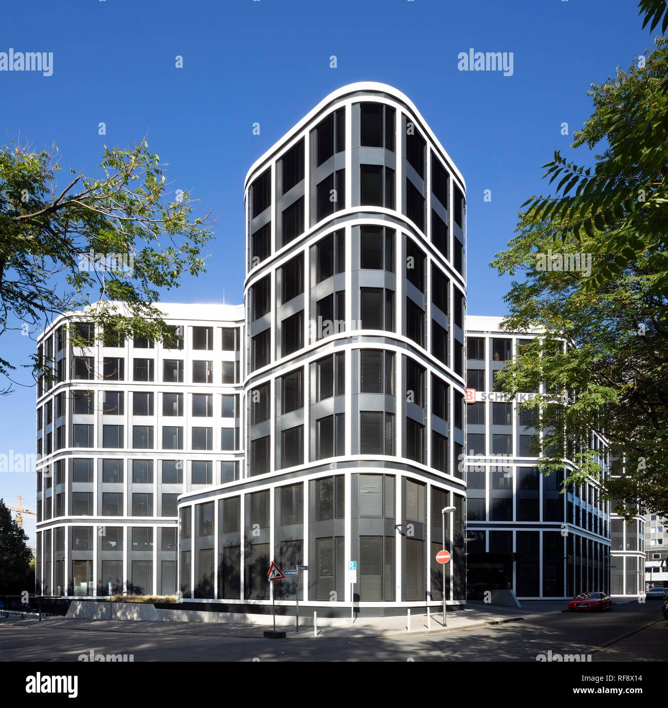 Head Office Logistics Company DB Schenker, Essen, Ruhr Area, North Rhine-Westphalia, Germany - Stock Image
