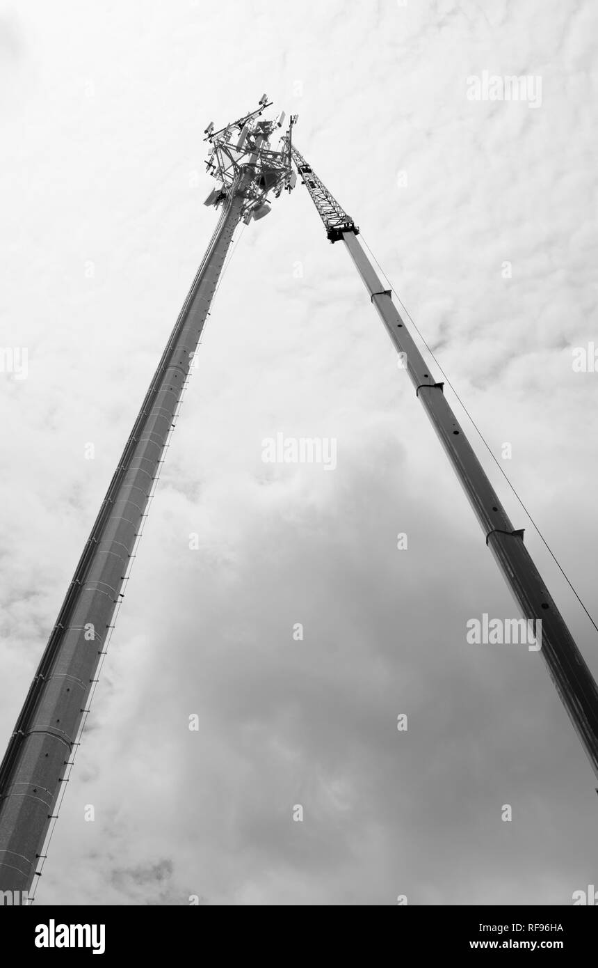 Communications Tower - Stock Image