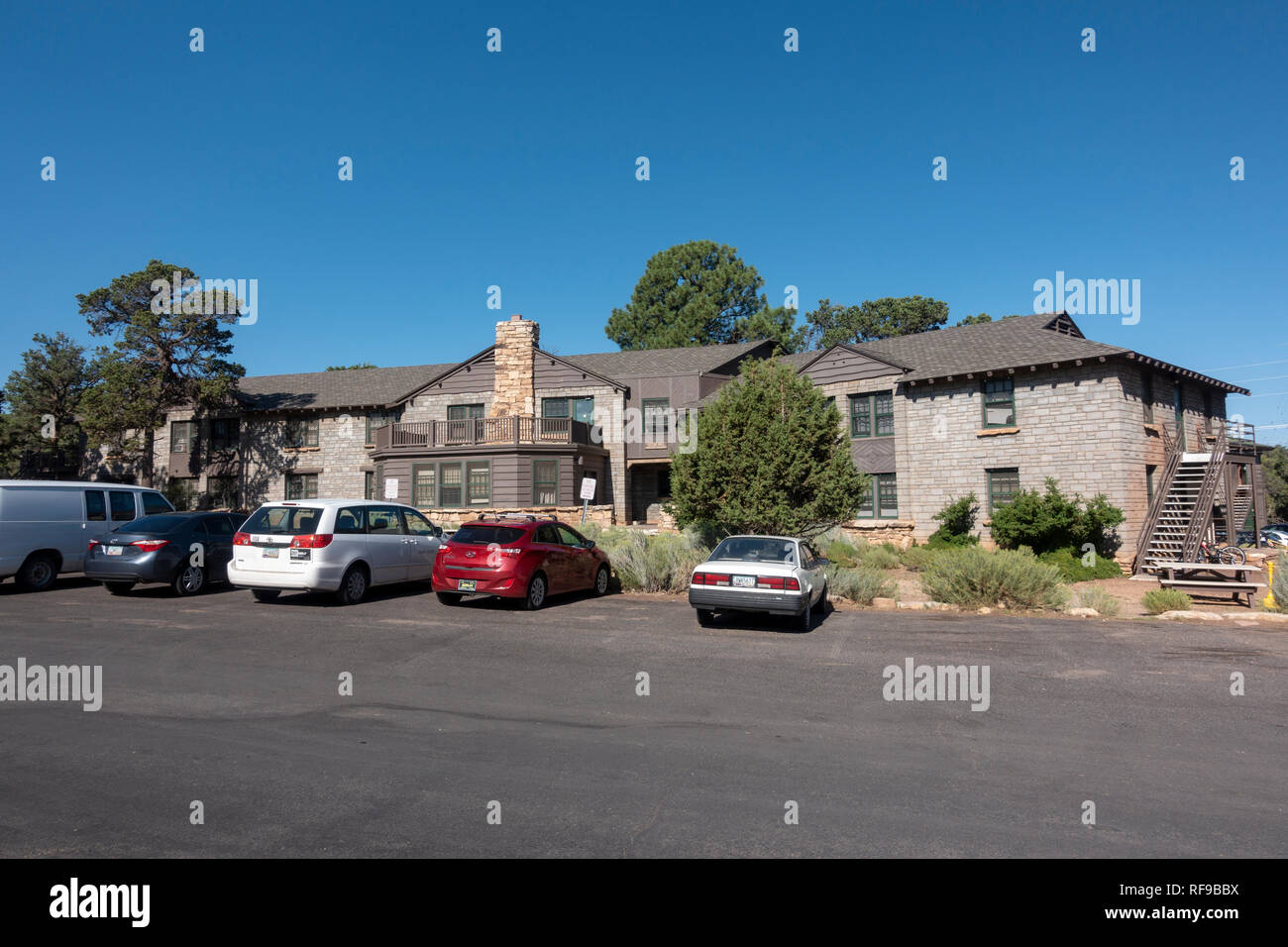 Victor Hall A Residential Building The Grand Canyon Village Grand Canyon National Park Arizona United States Stock Photo Alamy