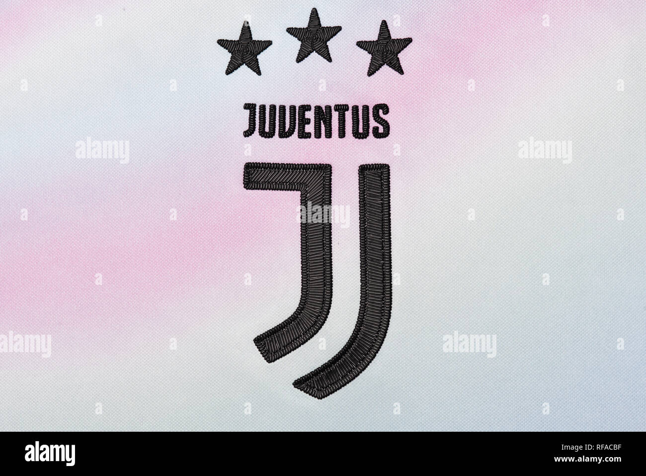 size 40 60e3a fd69d Juventus limited edition EA Sports Kit Stock Photo ...