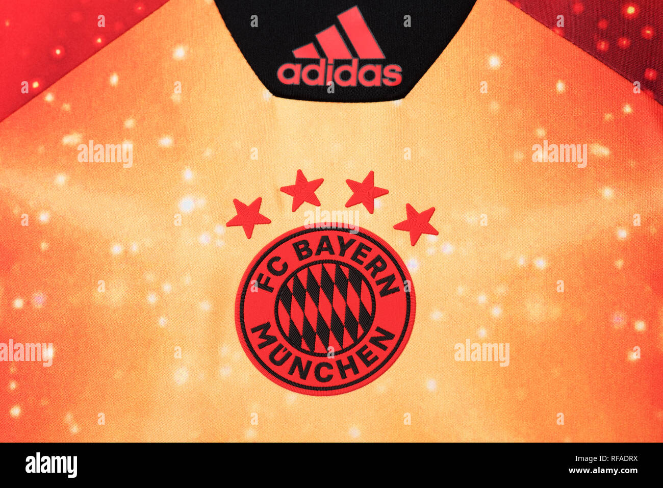 finest selection 1c922 3b668 FC Bayern Munchen limited edition EA Sports Jersey Stock ...