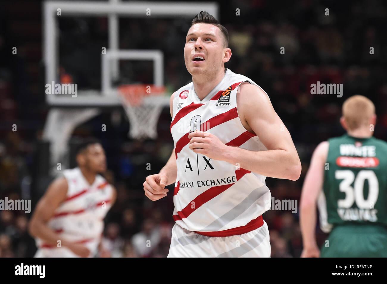 c20d4f4cb48af Foto Claudio Grassi LaPresse 24 gennaio 2019 Assago (MI) Italia sport  basket AX