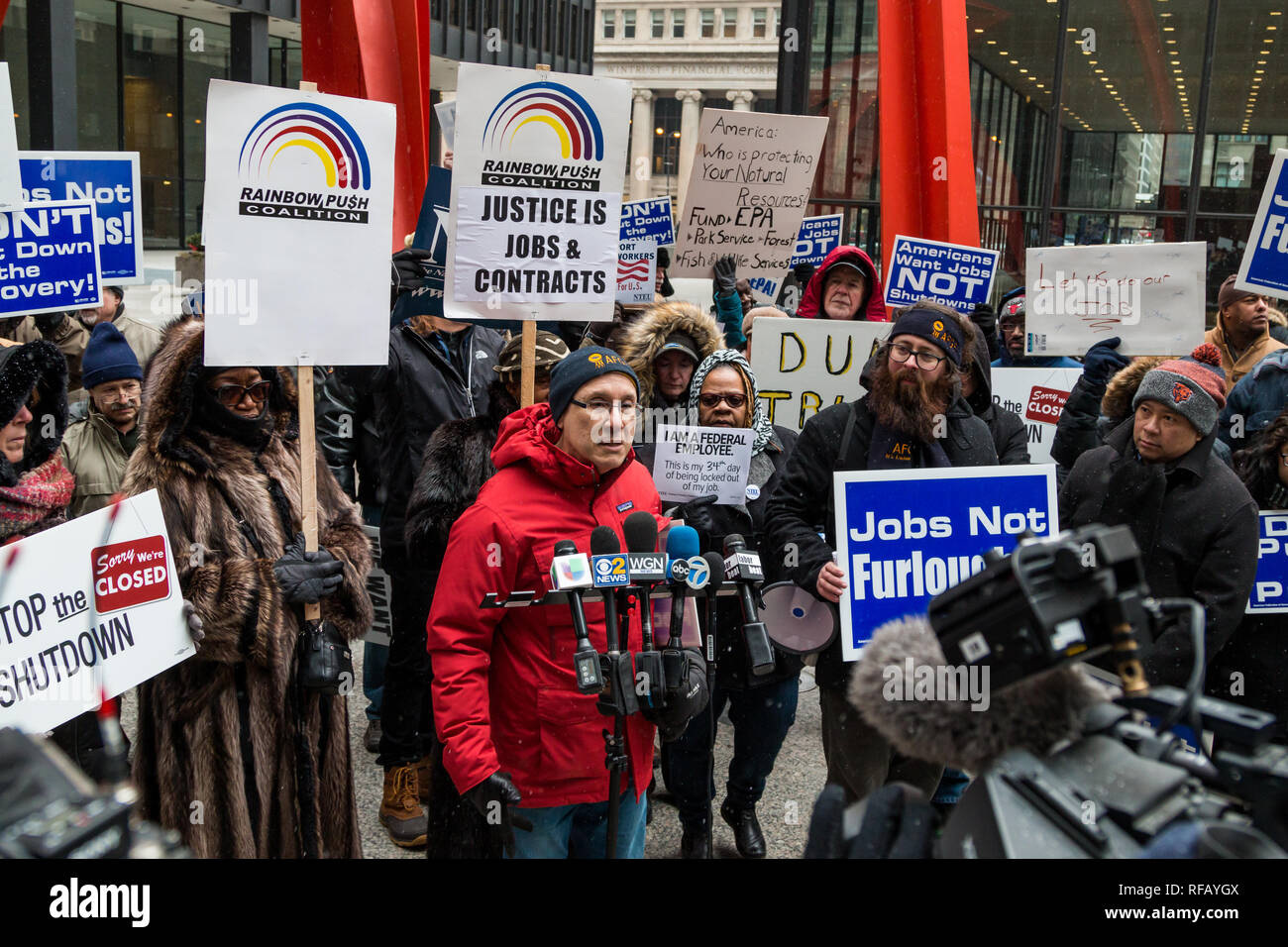 Chicago, Illinois, USA  24th January, 2019  For the third