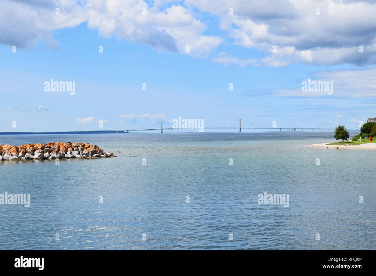 Lake Huron September 2016 - Stock Image