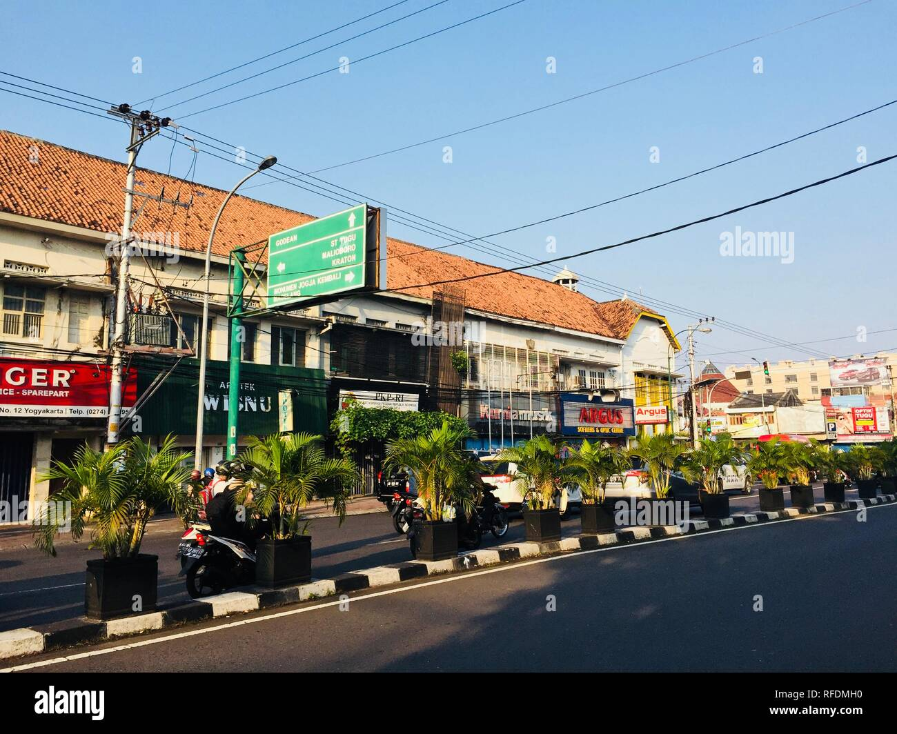 Jogjakarta Indonesia - Stock Image