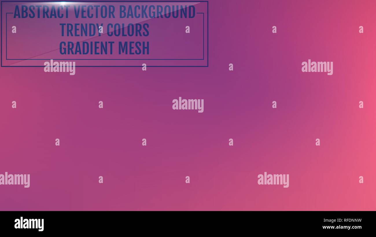 Gradient mesh abstract background. Trendy soft colors and smooth blend. Modern template with gradient mesh for screens and mobile app. Colorful fluid  - Stock Image