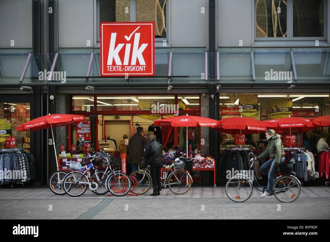 shop kik fashion discounter high resolution stock