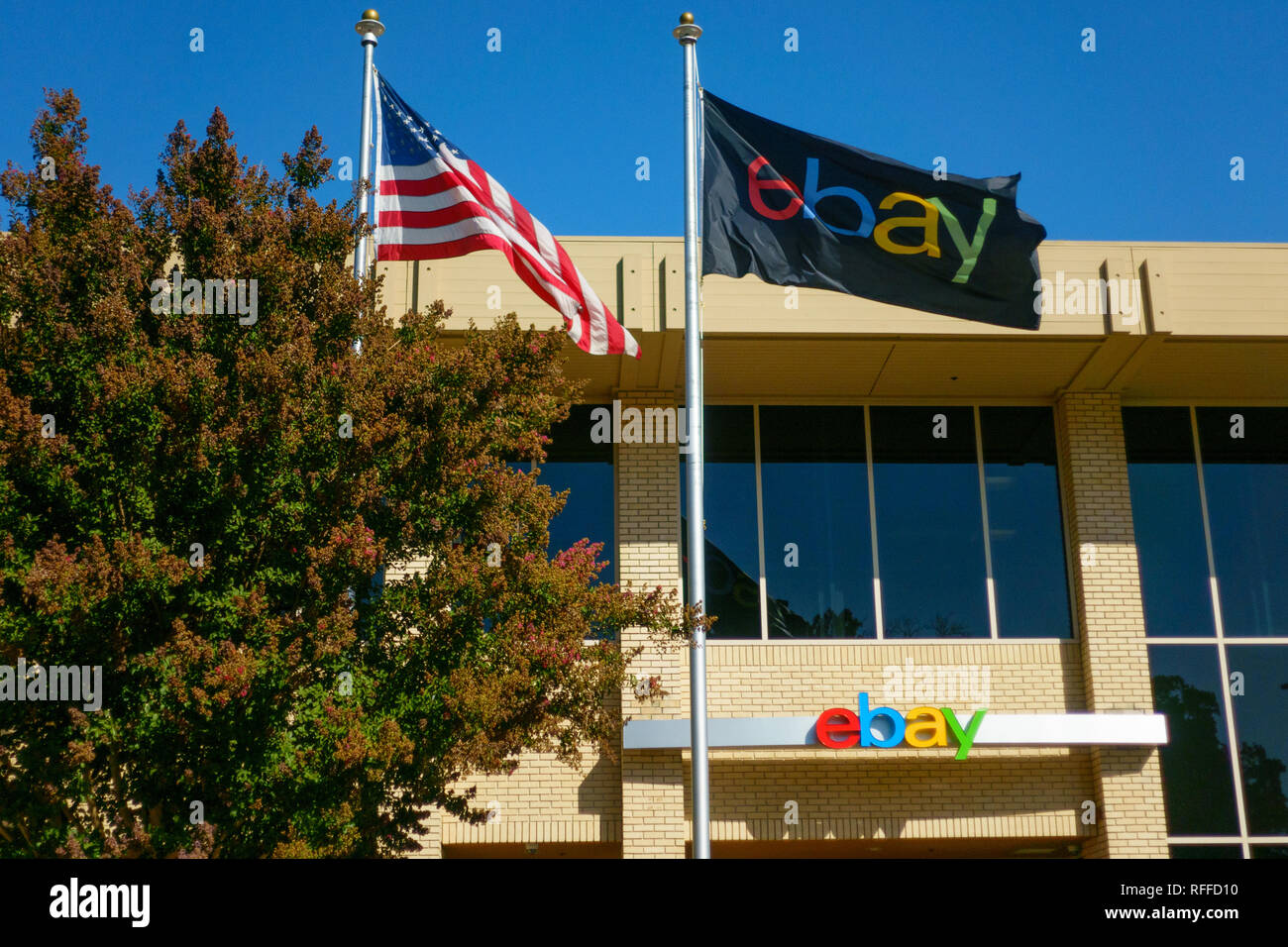 Ebay Company Headquarters In Silicone Valley Outdoors Stock Photo 233294124 Alamy