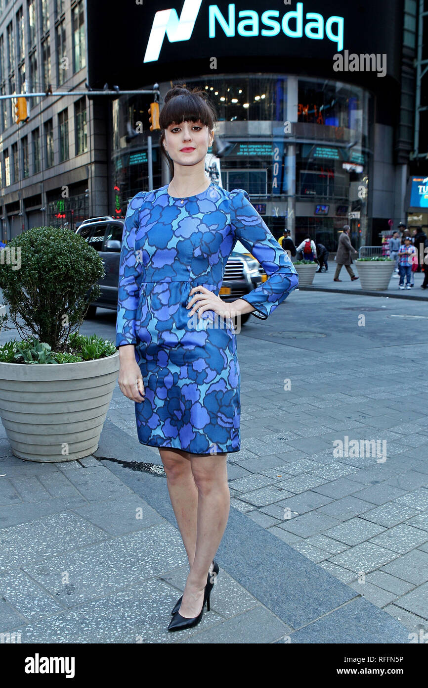New York, USA  06 Apr, 2015  Actress, Heather Lind at The