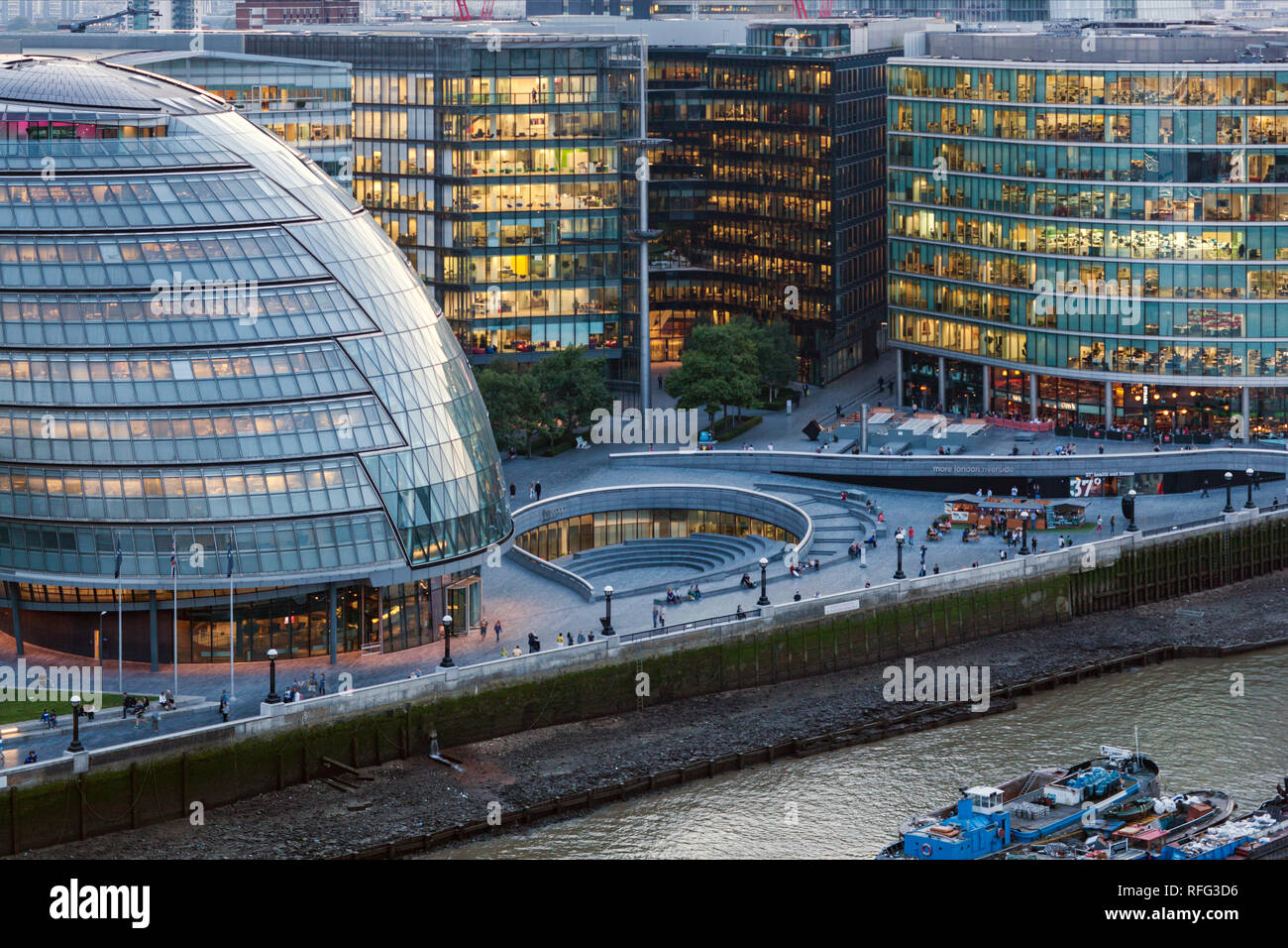 City Hall - HQ of the London Mayor - Stock Image