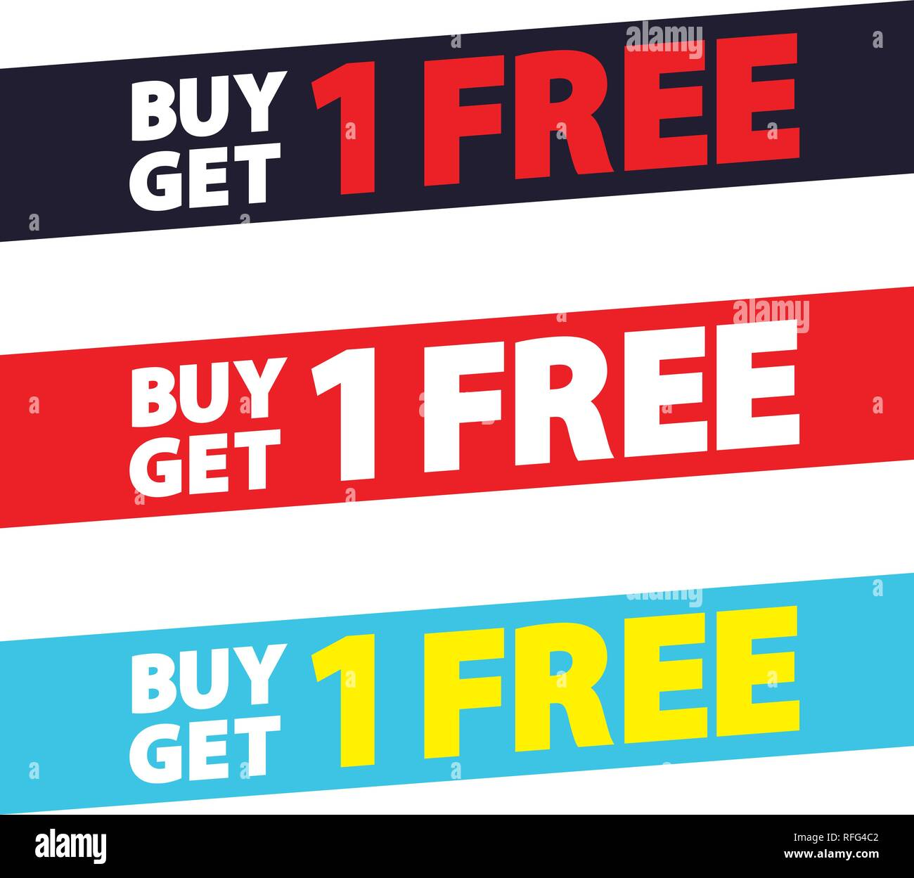 Buy Get 1 Free tag design for banner or poster  Sale and Discounts