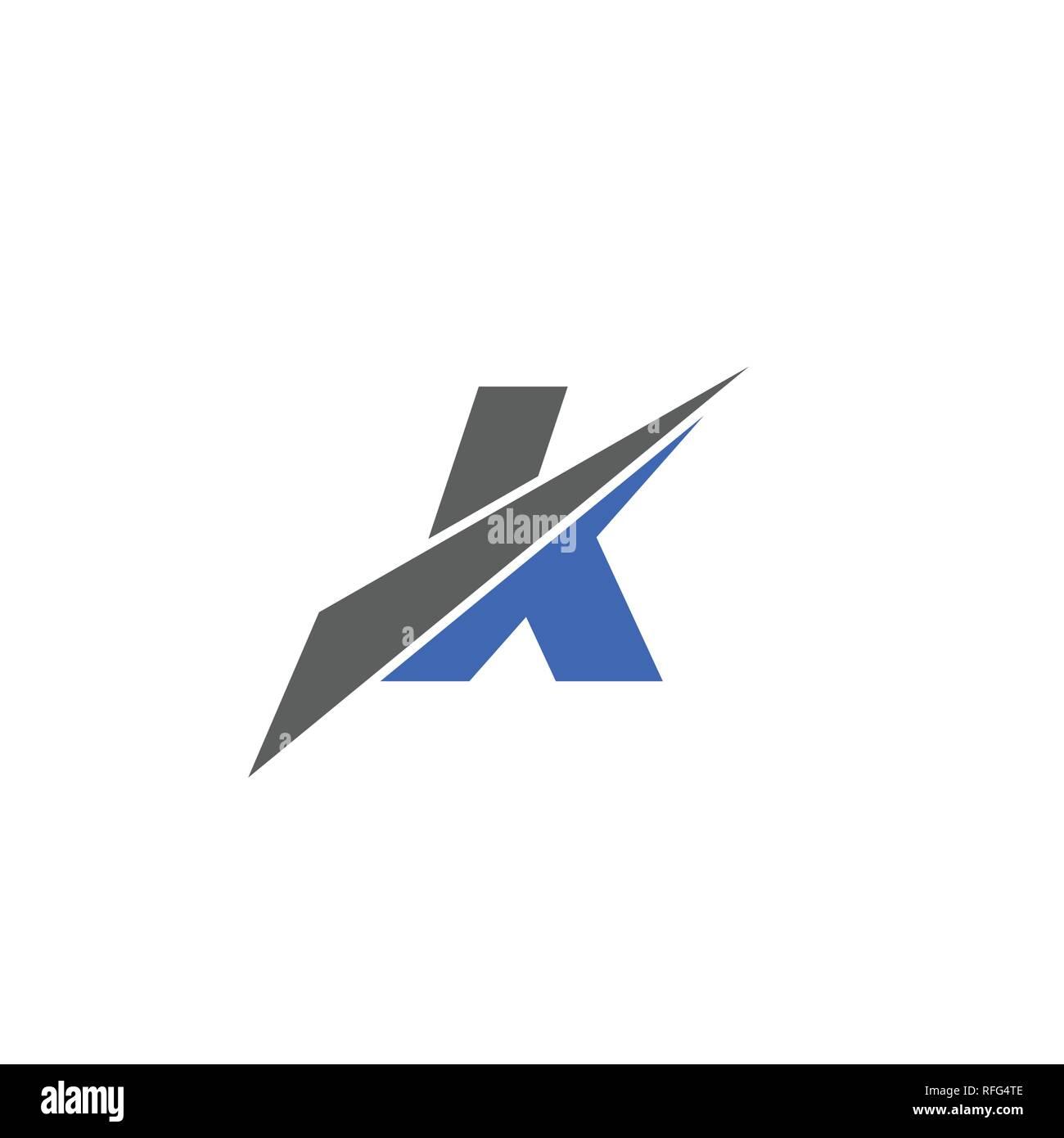 K Letter Logo Creative Letter K Graphic Logo Vector Design