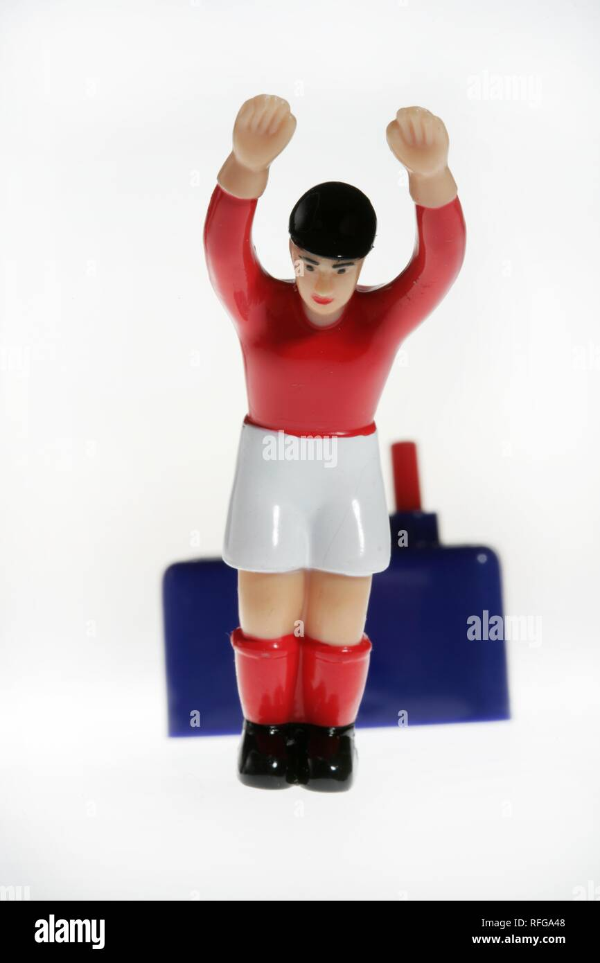 DEU Germany : Tipp Kick Football Soccer Table game | Stock Photo