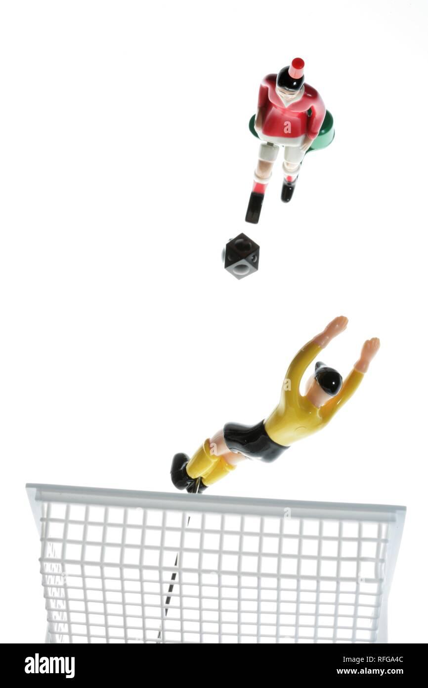 DEU Germany : Tipp Kick Football Soccer Table game   - Stock Image