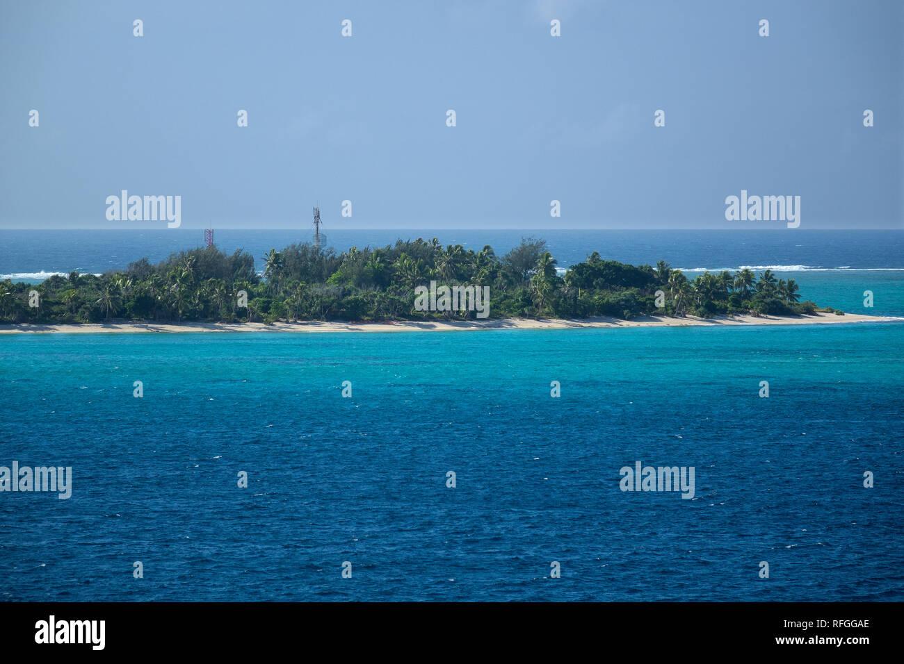 Vanuatu, Aneityum island, Mystery island - Stock Image