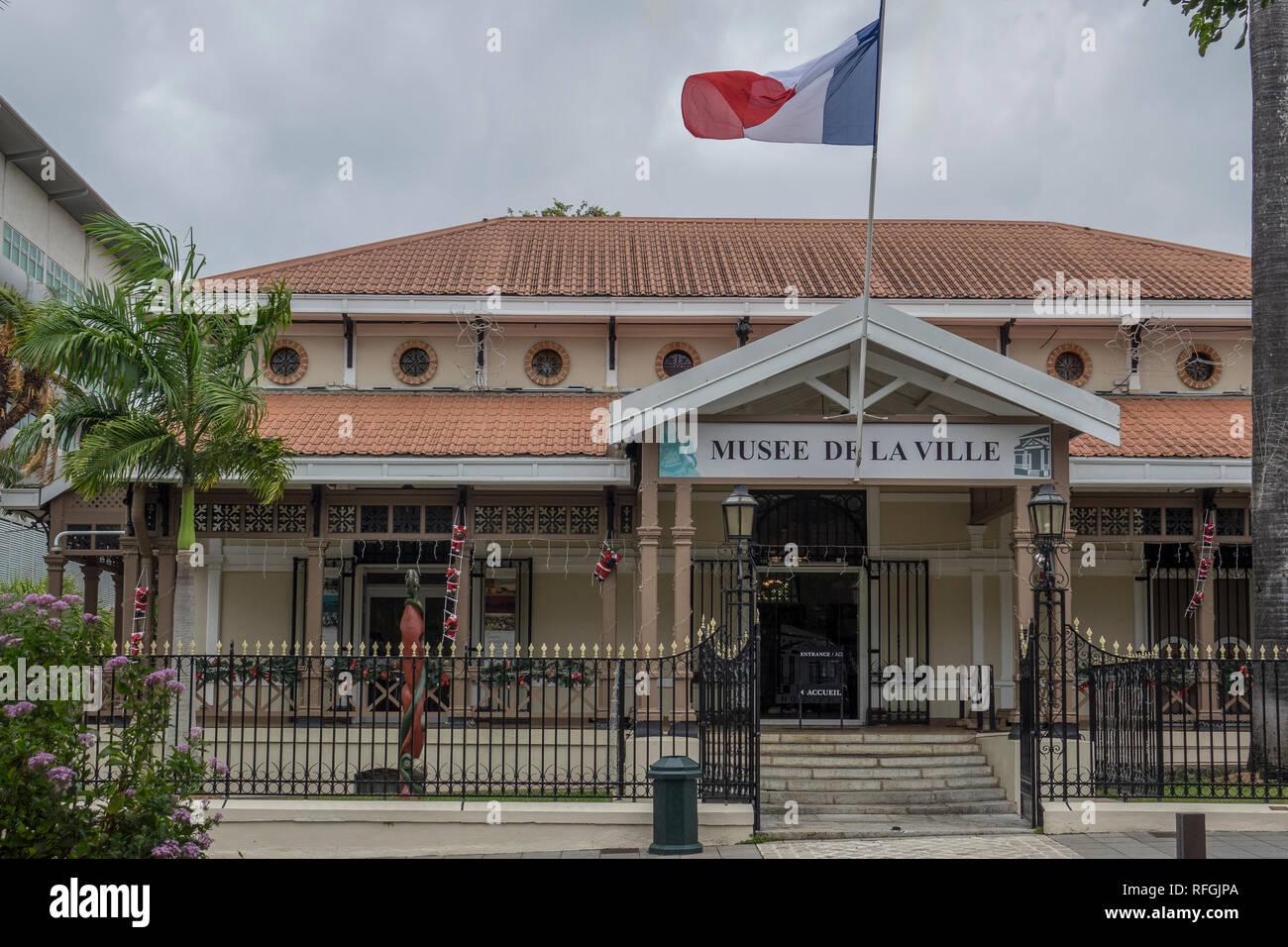 New Caledonia, Noumea, City Museum - Stock Image