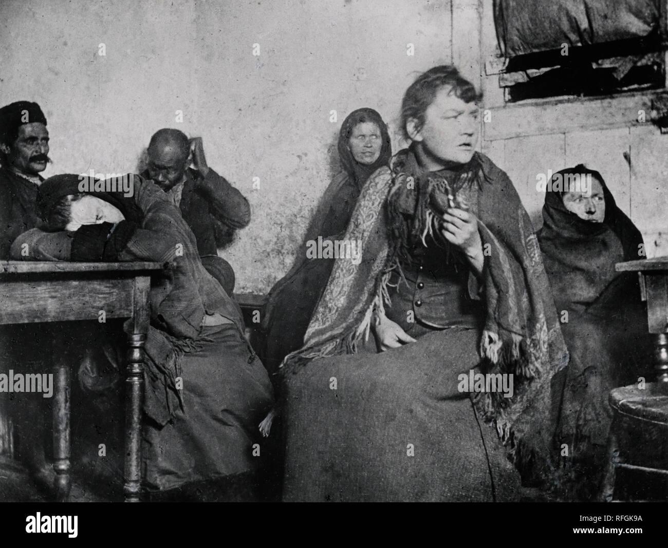Hell on Earth, Jacob Riis.jpg - RFGK9A  - Stock Image