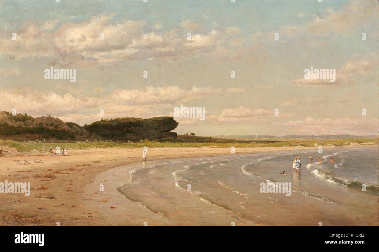 Whittredge Western art Canvas Thomas W On the Cache La Poudre River c.1876