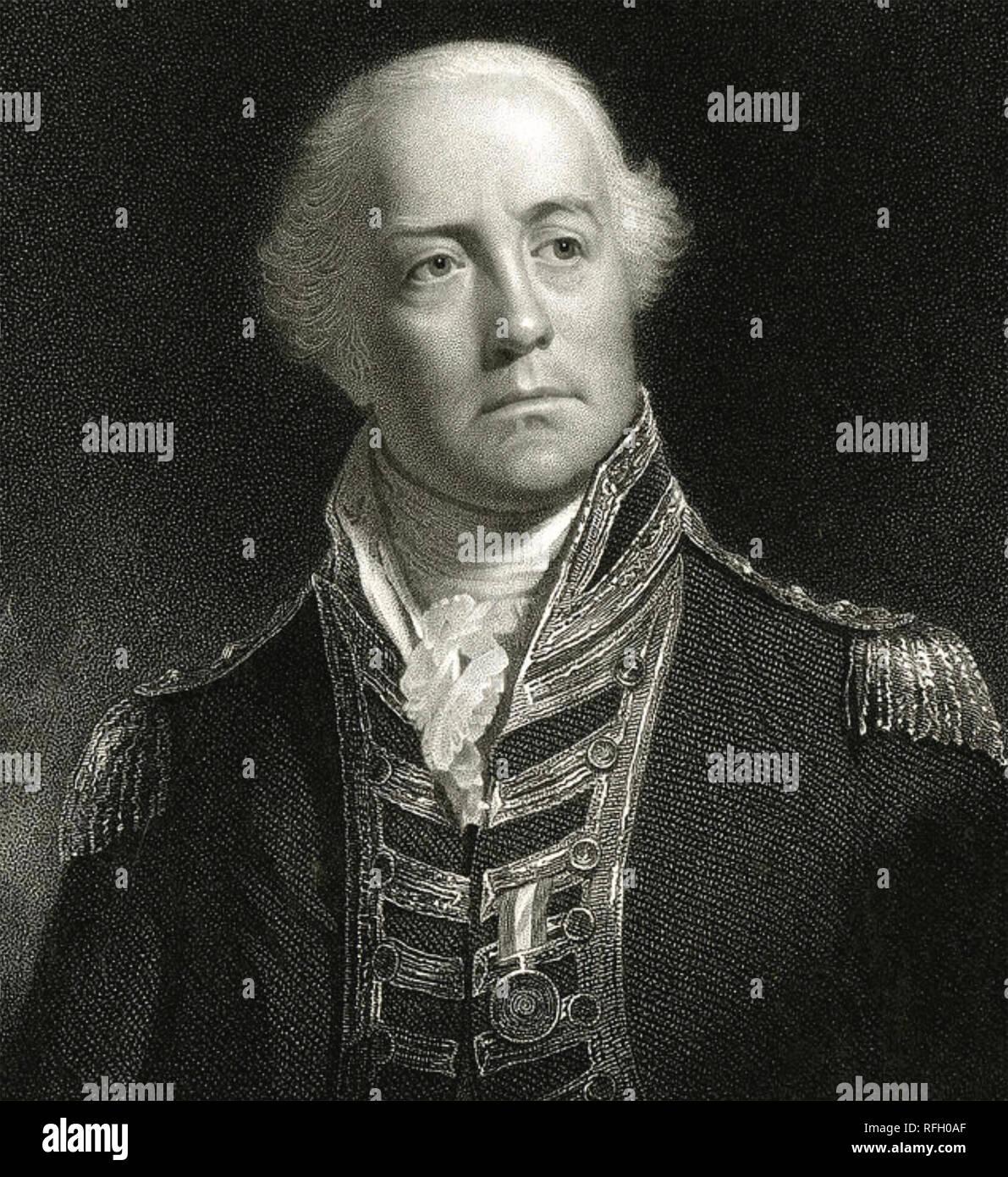 1823 Georgian Print ~ Admiral Lord Viscount Exmouth Art