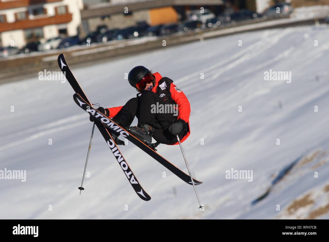 Seiser Alm, South Tyrol, Italy  25th Jan, 2019  FIS Freeski SS World