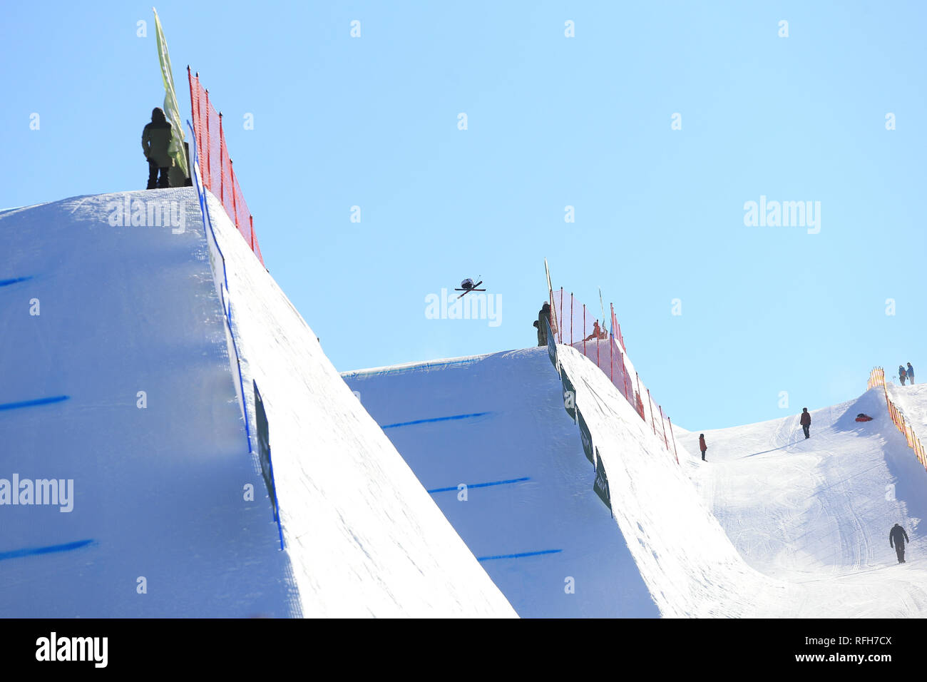 FIS Free Ski World Cup 2019 Slopestyle Event in Seiser Alm