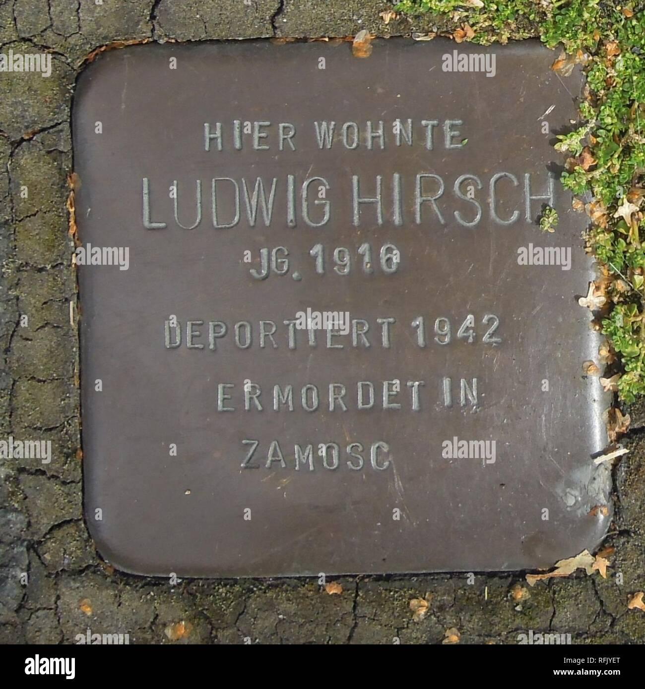 Bad Laasphe Bahnhofstr 67 Ludwig Hirsch Stock Photo 233371344 Alamy