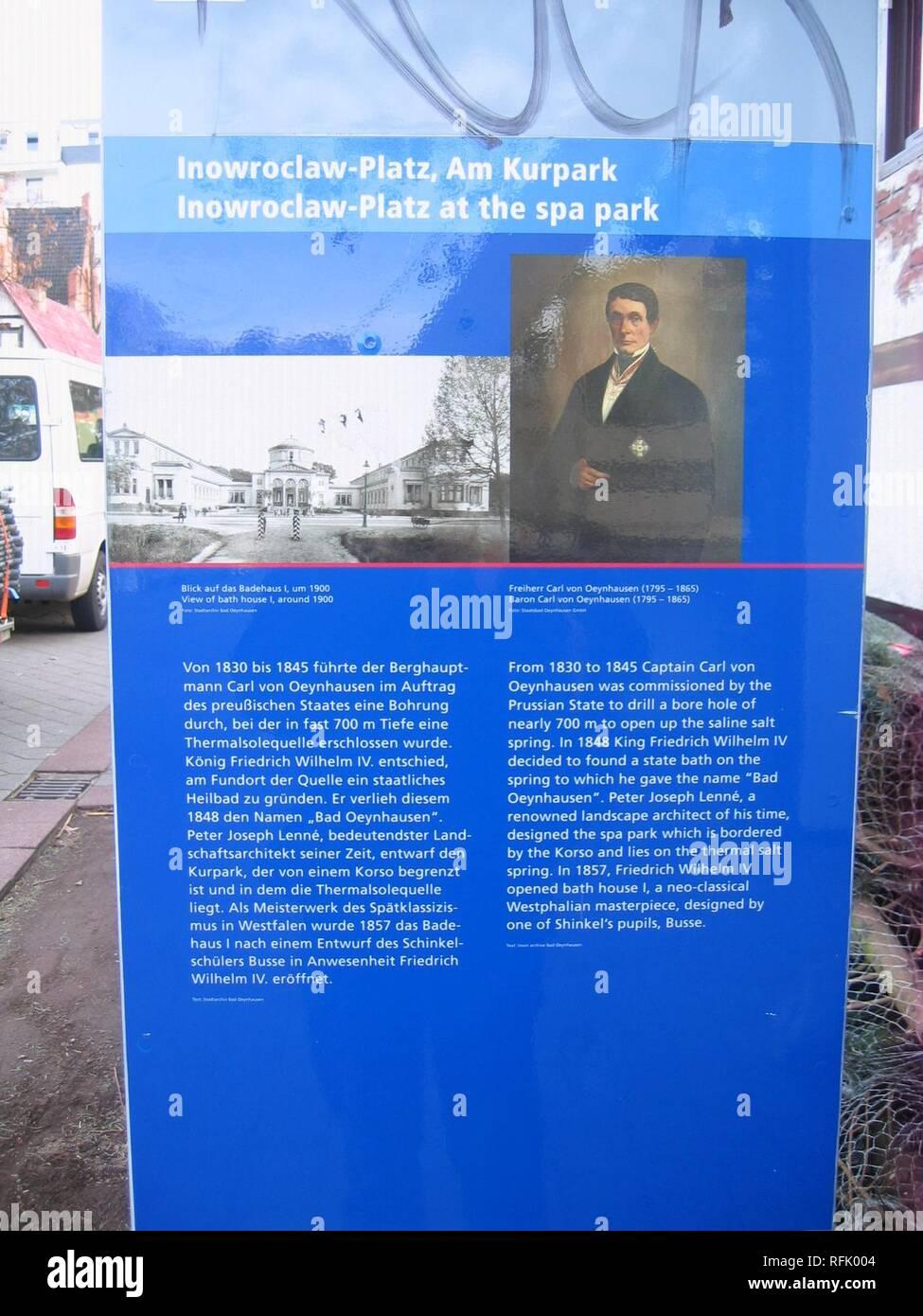 Bad Oeynhausen, 2009-Nov (5). - Stock Image